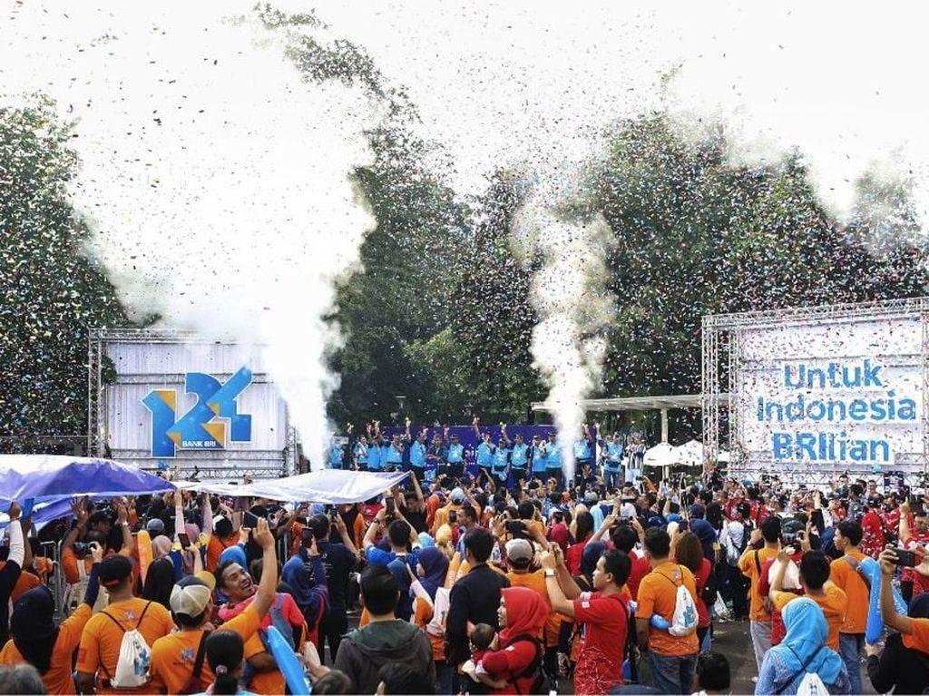 65.000 Peserta Ramaikan Puncak Perayaan HUT BRI ke-124