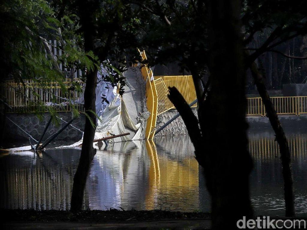 Polisi Sudah Periksa 2 Saksi Terkait Ambruknya Jembatan Utan Kemayoran