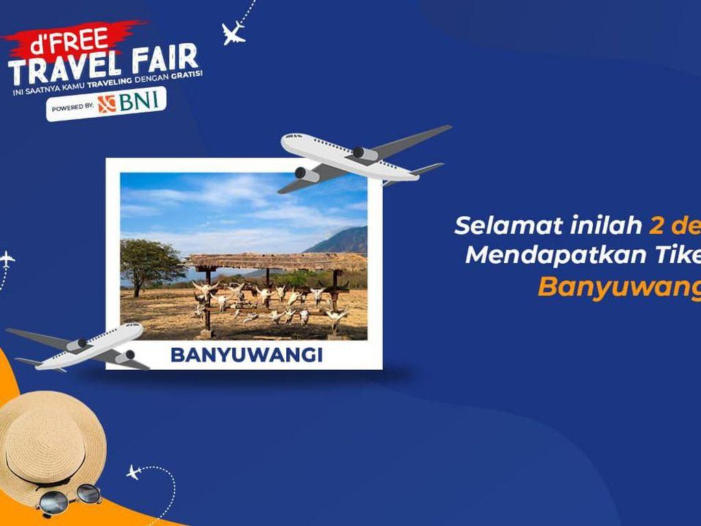 Dua Nama Ini adalah Pemenang Tiket Pesawat Gratis ke Banyuwangi