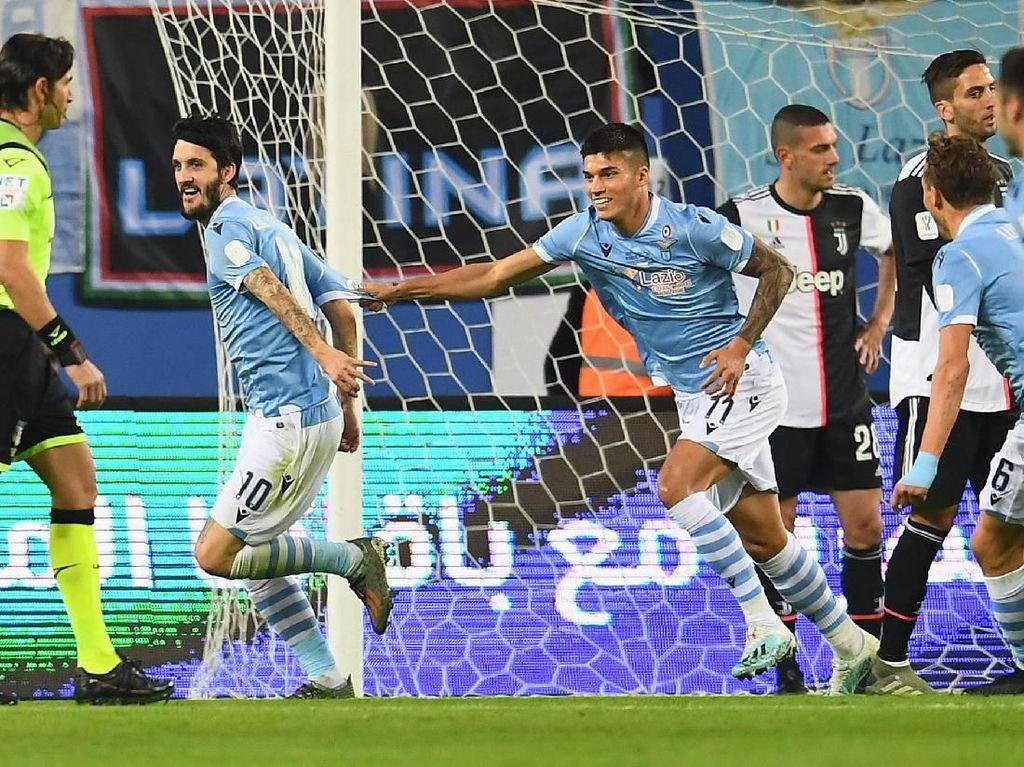 Kalahkan Juventus, Lazio Juara Piala Super Italia