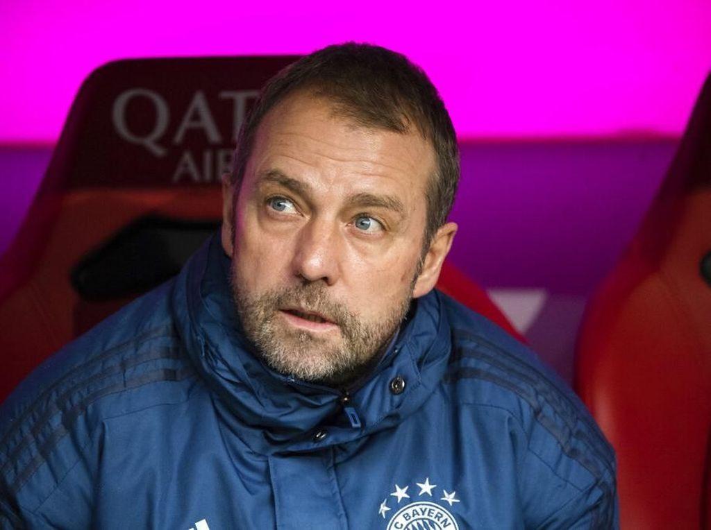 Hansi Flick Tangani Bayern Sampai Akhir Musim