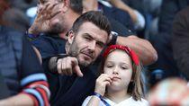 Cium Bibir Anak, David Beckham Kena Hujat Netizen Lagi