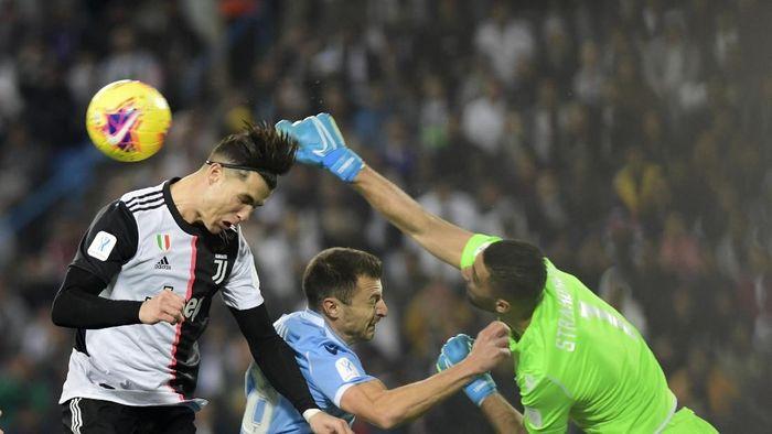 Sembilan fakta usai kekalahan Juventus dari Lazio di Piala Super Italia (Nasser Alharbi/AP Photos)
