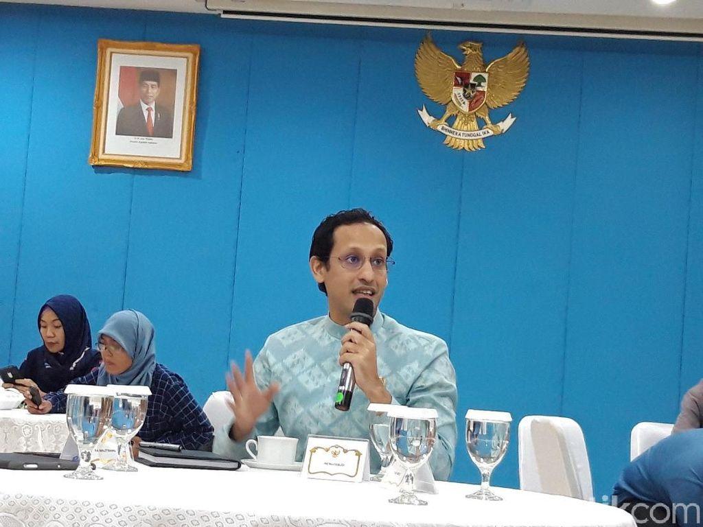 Mendikbud Nadiem Harap Blueprint Arah Pendidikan RI Rampung dalam 6 Bulan