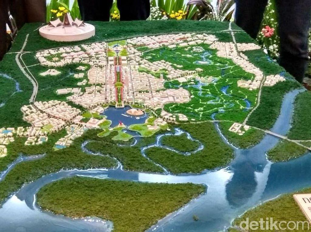 Ini Penampakan Desain Ibu Kota Baru Pemenang Sayembara