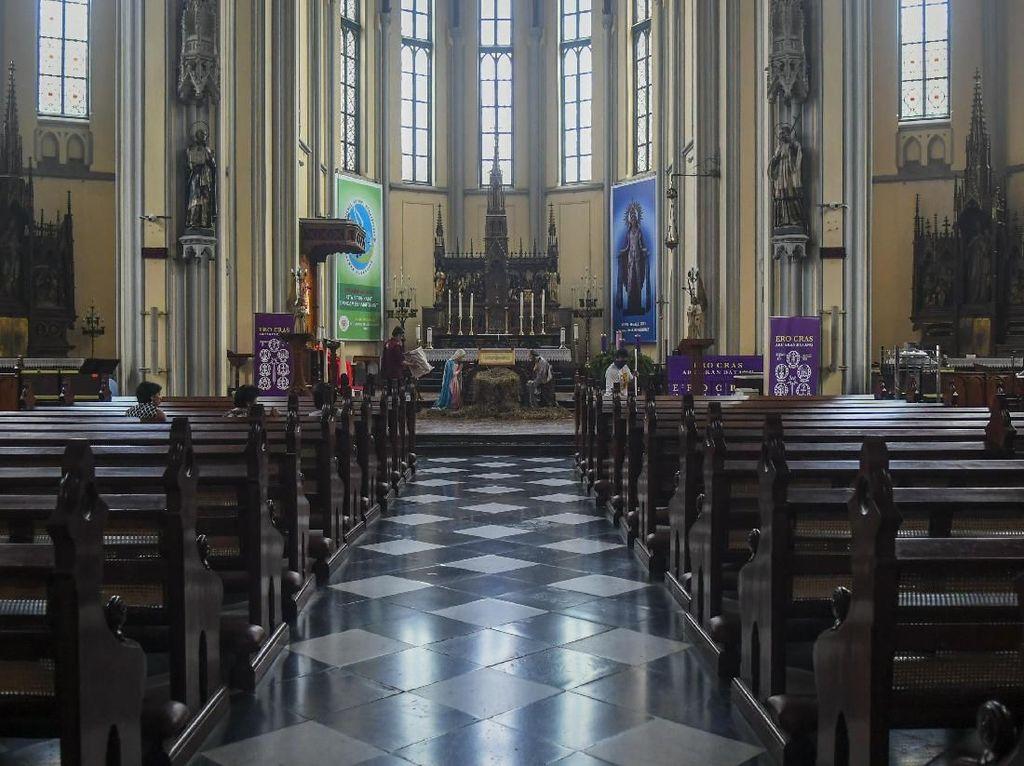 Digelar 3 Sesi, Simak Jadwal Ibadah Paskah di Katedral Jakarta Besok