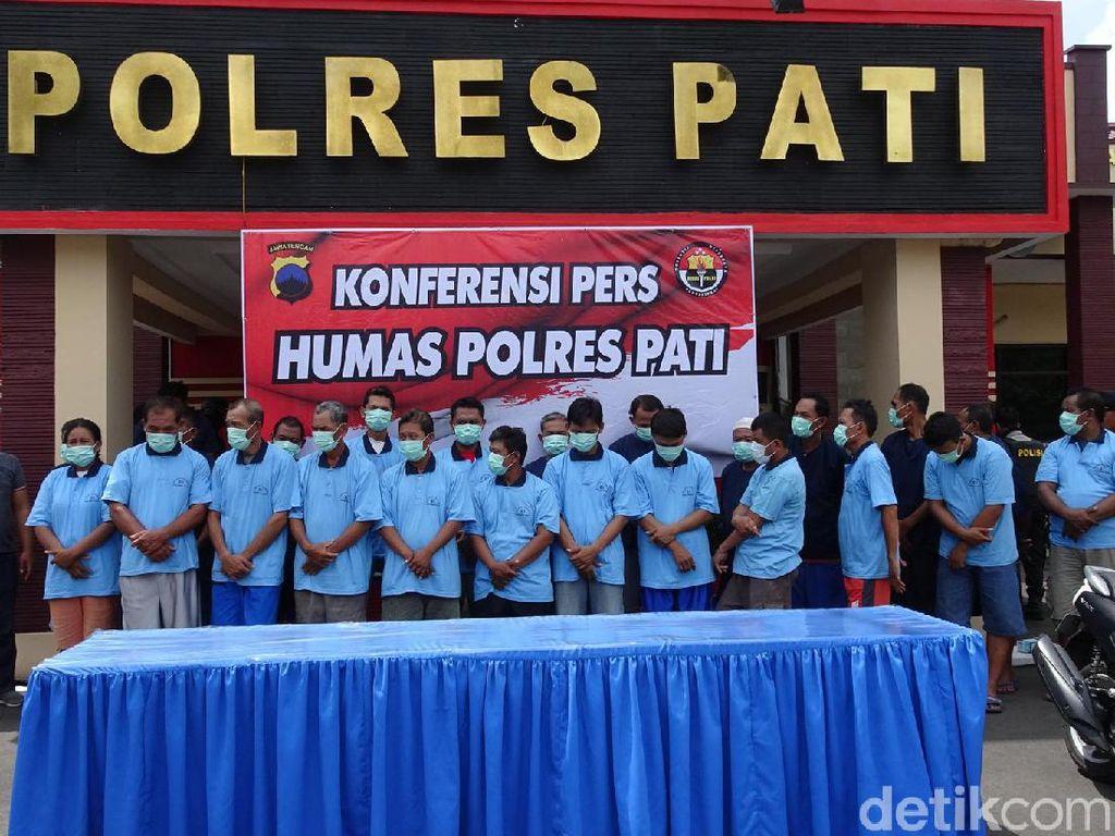 Pilkades di Pati Malah Jadi Ajang Judi, 23 Botoh Diciduk Polisi