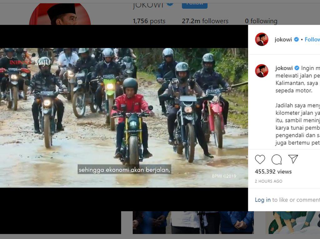 Komentar Modifikator saat Motor Buatannya Dipakai Blusukan Jokowi