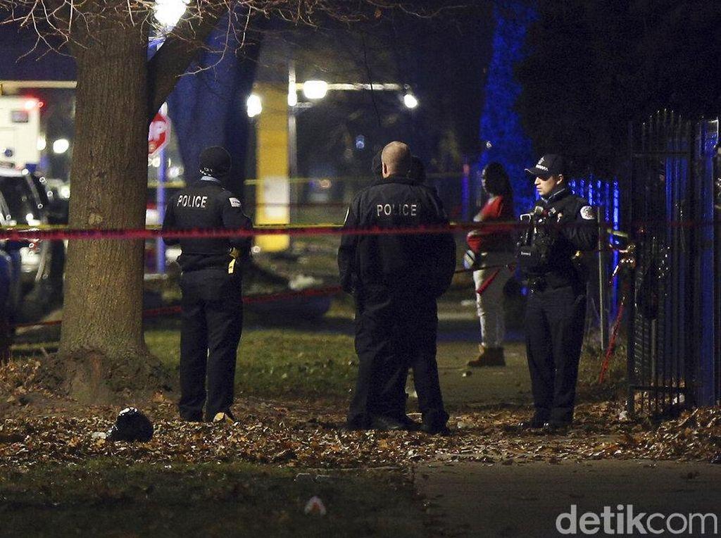 13 Orang Terluka dalam Penembakan di Chicago, 4 Kritis