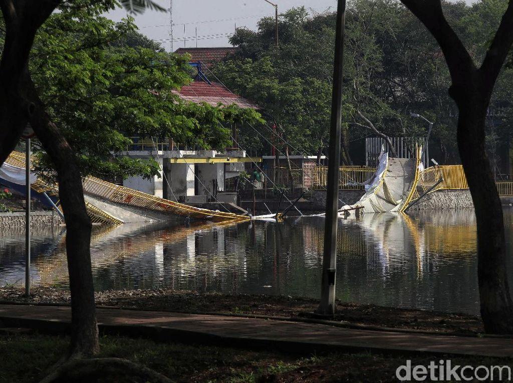Ada Insiden Jembatan Ambruk, Utan Kota Kemayoran Tetap Aman Dikunjungi
