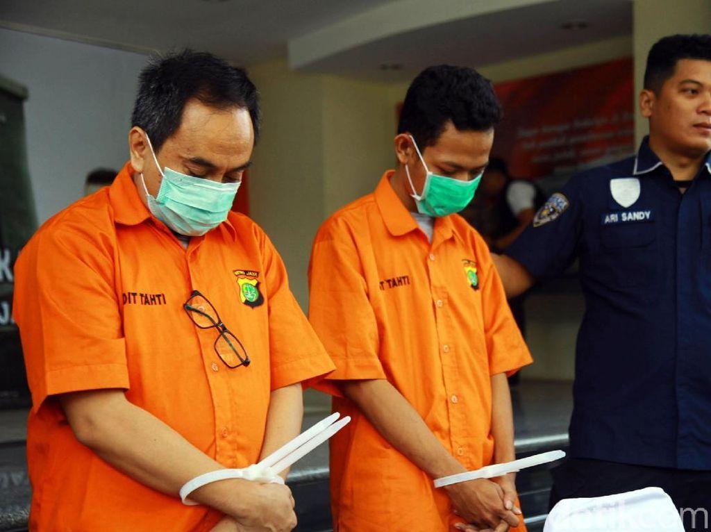 Dua Penipu Rekrutmen PT KAI Dibekuk Polisi