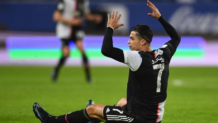 Cristiano Ronaldo kembali merasakan lagi kekalahan di final sejak terakhir tahun 2013 (Foto: Photo by Claudio Villa/Getty Images for Lega Serie A)