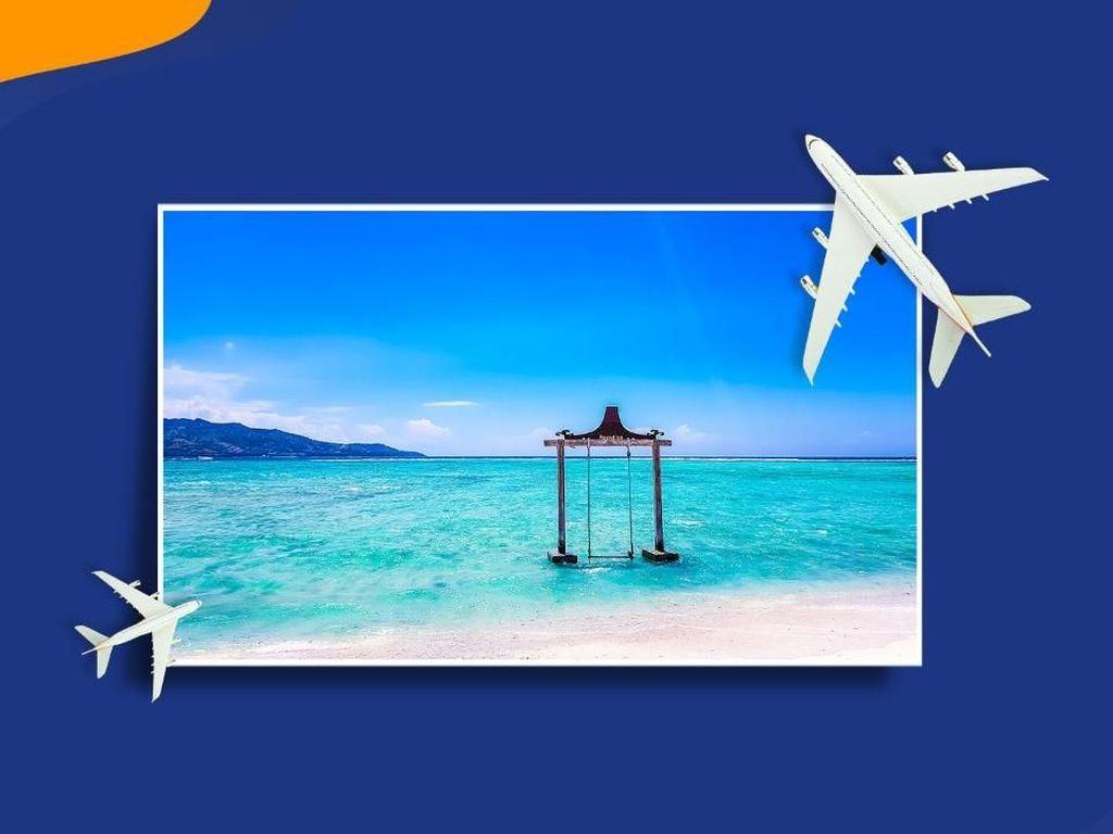 Tahu Letak Pantai Pink? Bisa Dapat Tiket Gratis ke Lombok Lho