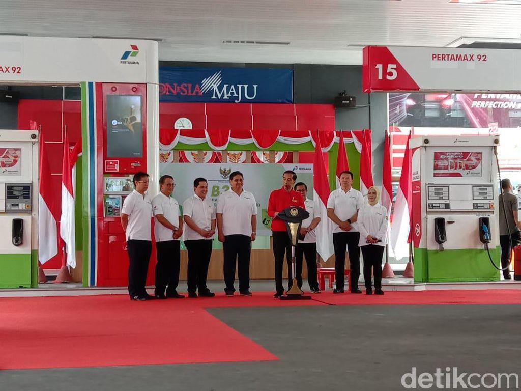 Didampingi Ahok, Jokowi Resmikan Implementasi Biodiesel 30%