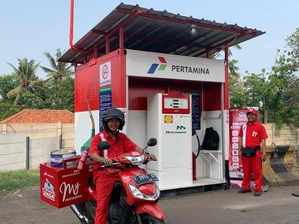 Pertamina Delivery Service Siap Antar BBM di Tol Japek Layang