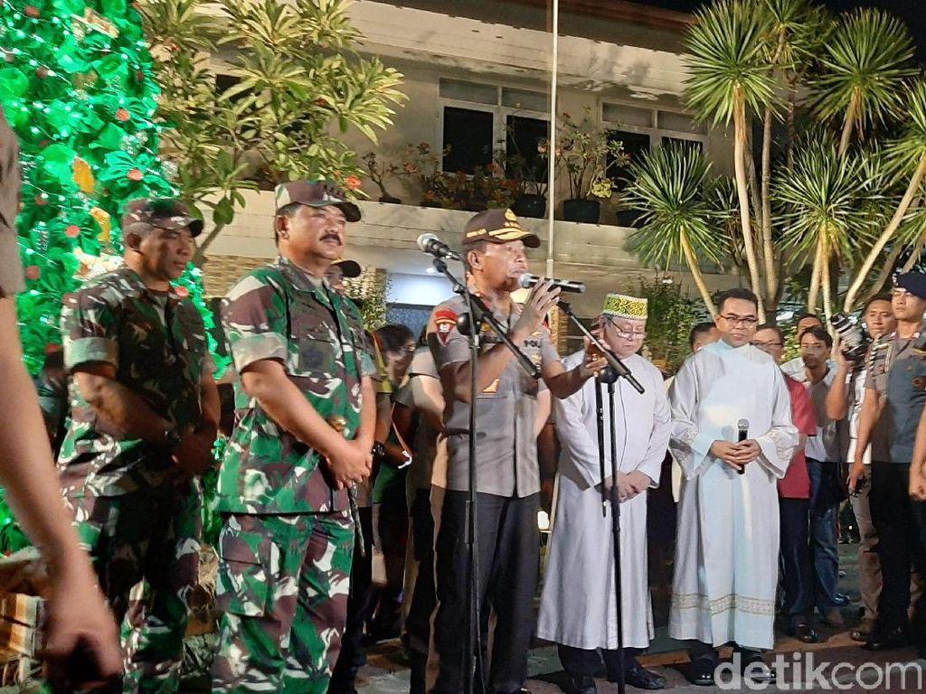 Kapolri: Perayaan Malam Natal 2019 Berjalan Aman di Seluruh Indonesia