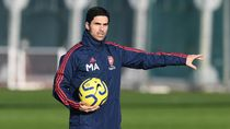 Video Pelatih Arsenal Mikel Arteta Positif Corona