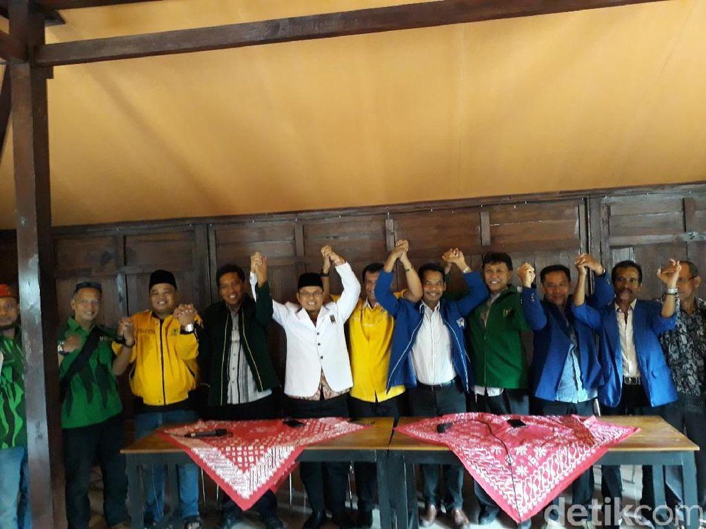Jelang Pilkada, 7 Parpol di Sleman Gabung Koalisi Santun Bersatu