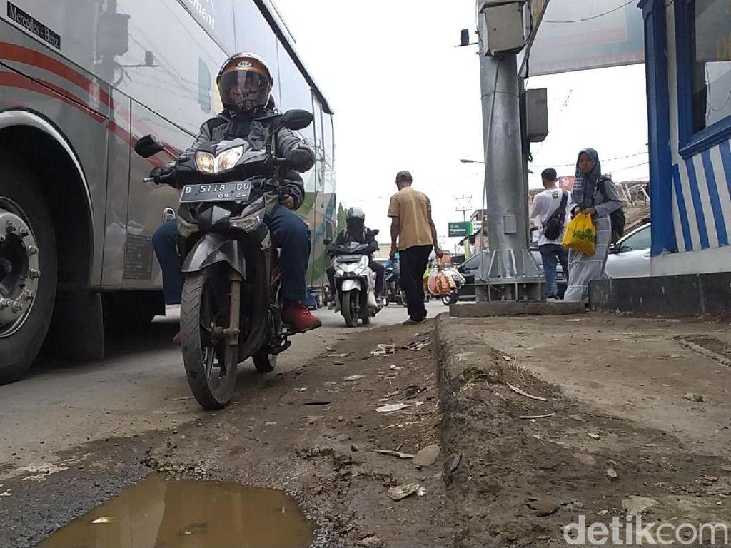 Jalur Limbangan Garut Padat, Polisi Berlakukan One Way