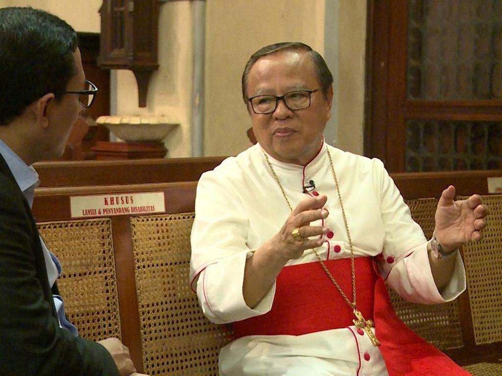 Ignatius Suharyo Cerita soal Jalan Tuhan MenjadiKardinal