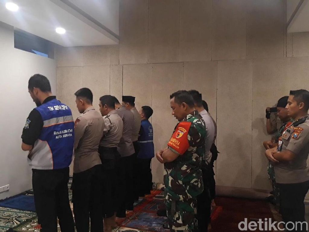 Gereja di Surabaya Siapkan Musala Bagi Aparat Muslim yang Berjaga