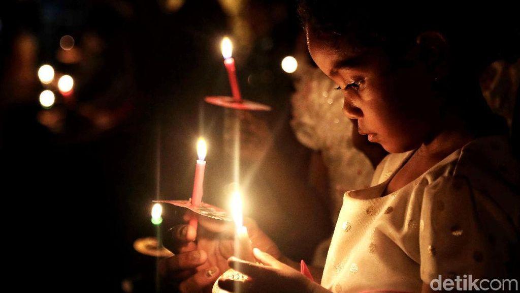 Ibadah Malam Natal di Gereja Portugis Jakut