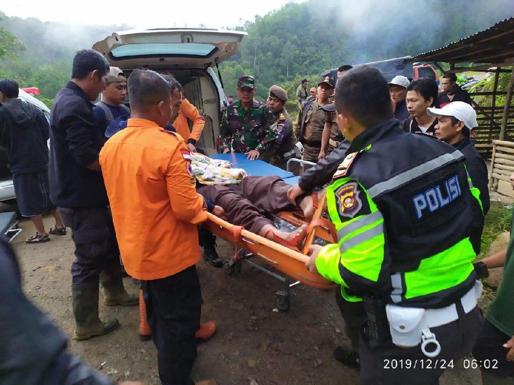 Bus Sriwijaya Terjun ke Jurang di Pagar Alam Sumsel, 24 Orang Tewas
