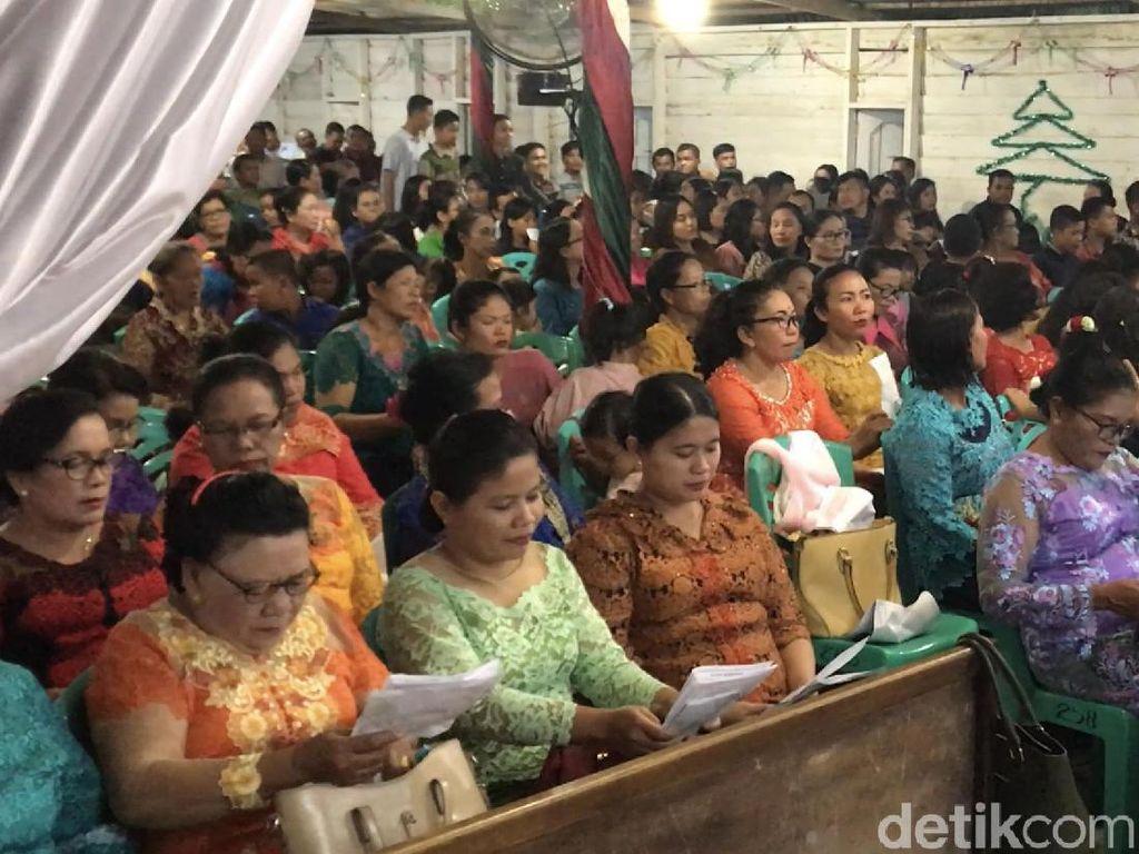 Perayaan Natal di Dharmasraya Berlangsung Aman dan Lancar