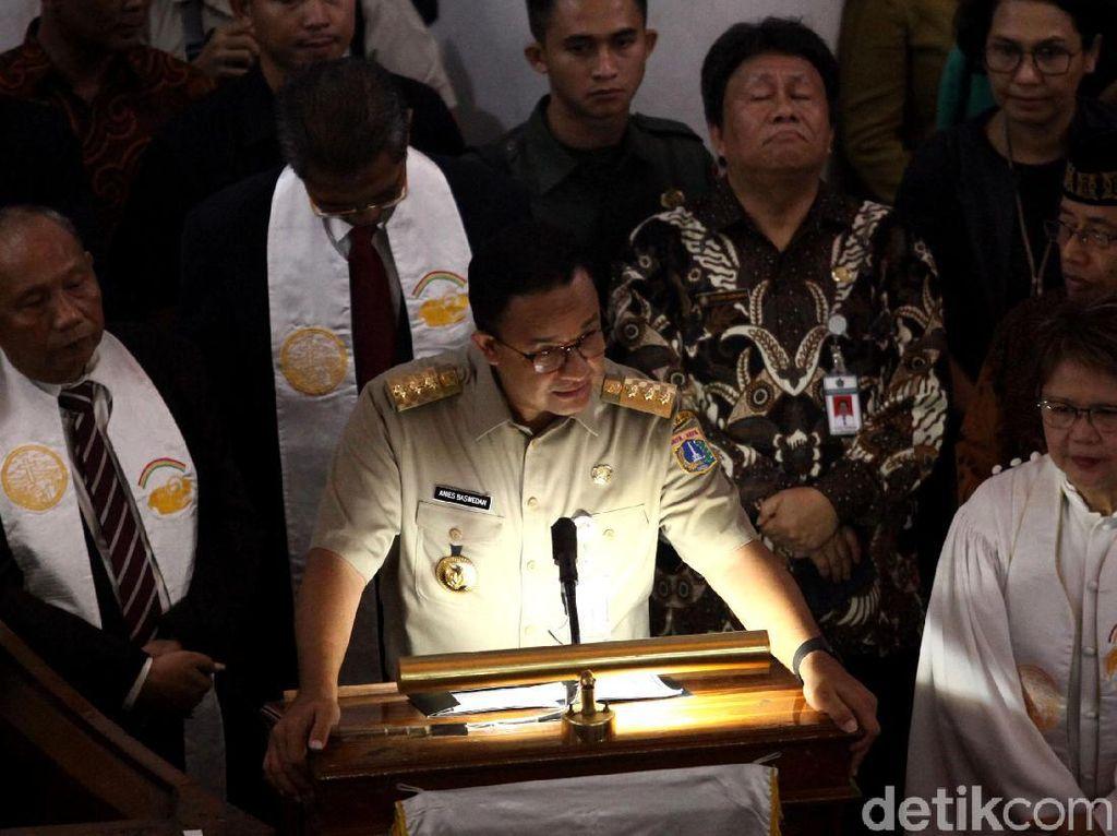 Anies Ucapkan Selamat Natal, Berharap Umat Kristiani di Jakarta Sukacita