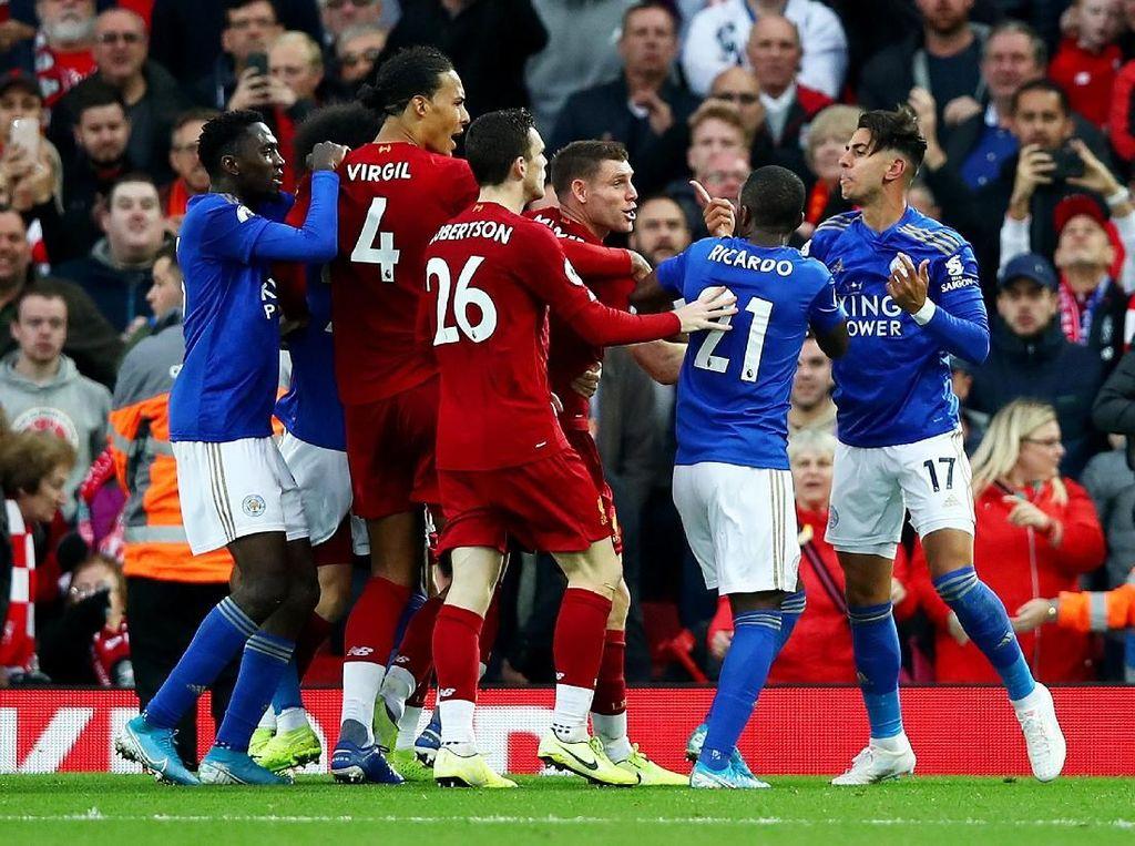Liverpool Bidik Rekor, tapi Punya Sejarah Buruk sama Leicester
