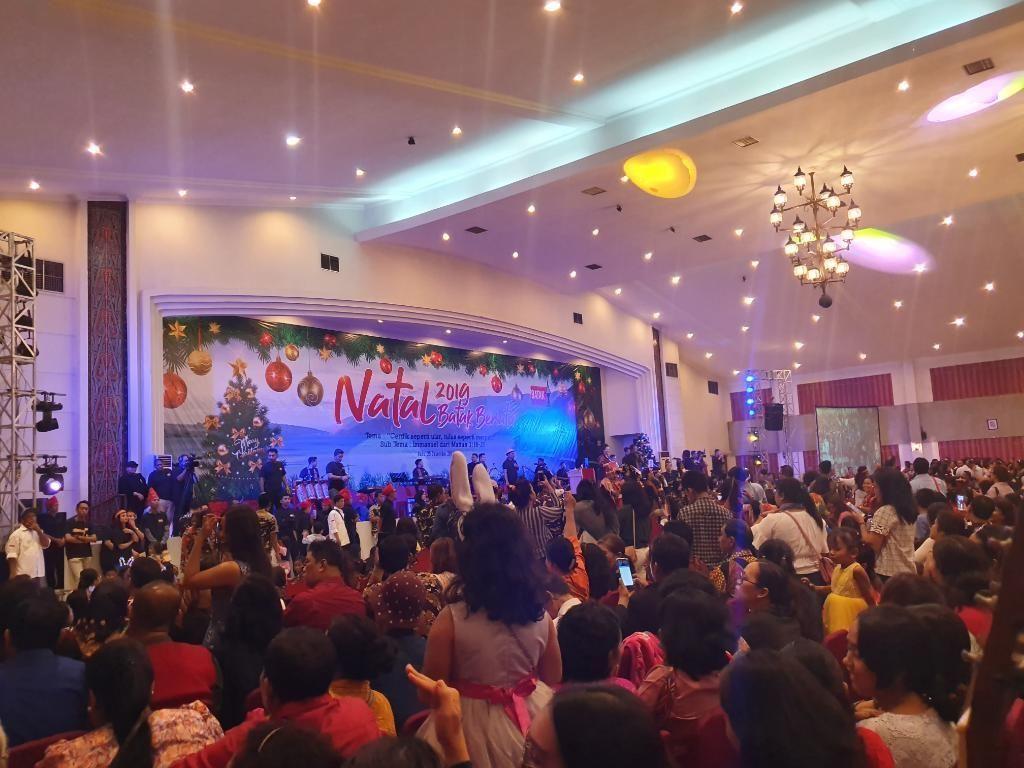 Suku Batak Rayakan Natal Bersama di DKI: Kita Orang yang Cinta Damai