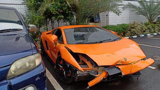 Lamborghini milik Abdul Malik.