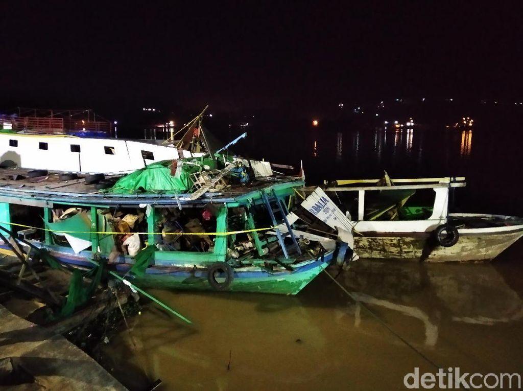 Kapal Meledak di Sungai Mahakam, 3 Orang Dilarikan ke Rumah Sakit
