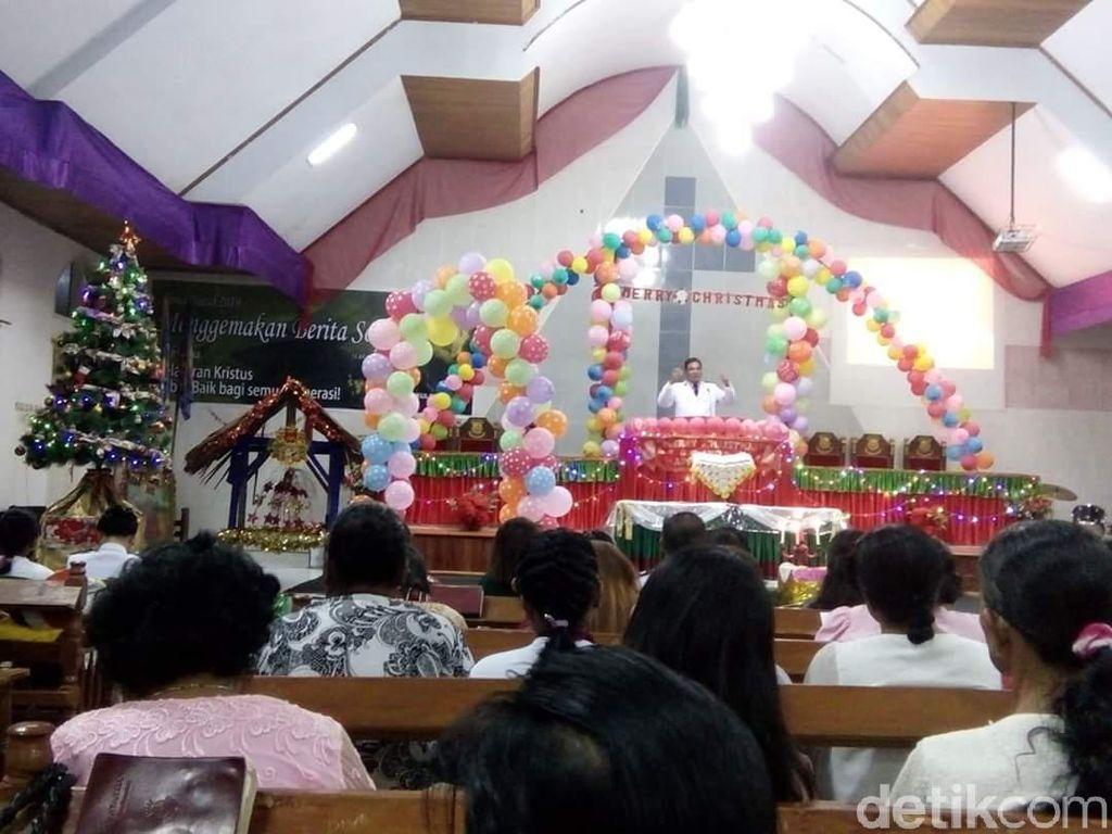 Pascagempa, Ibadah Misa Natal di Sigi Berjalan Lancar-Khidmat