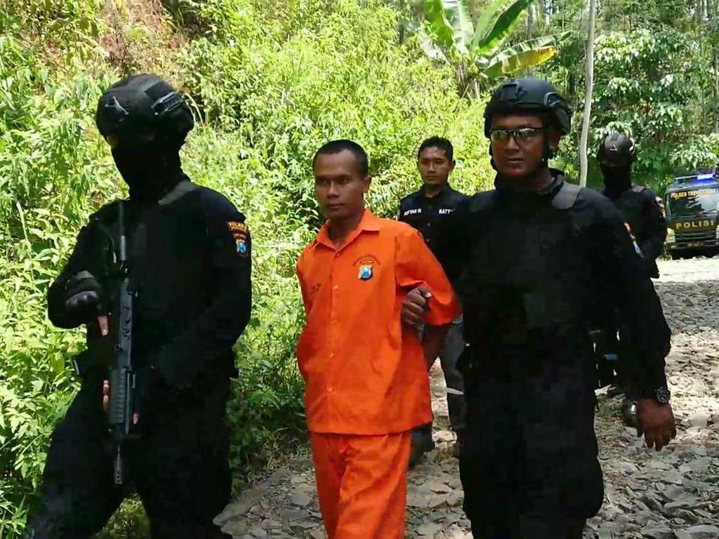 Ini Pelaku Ilegal Logging yang Tabrak Polisi