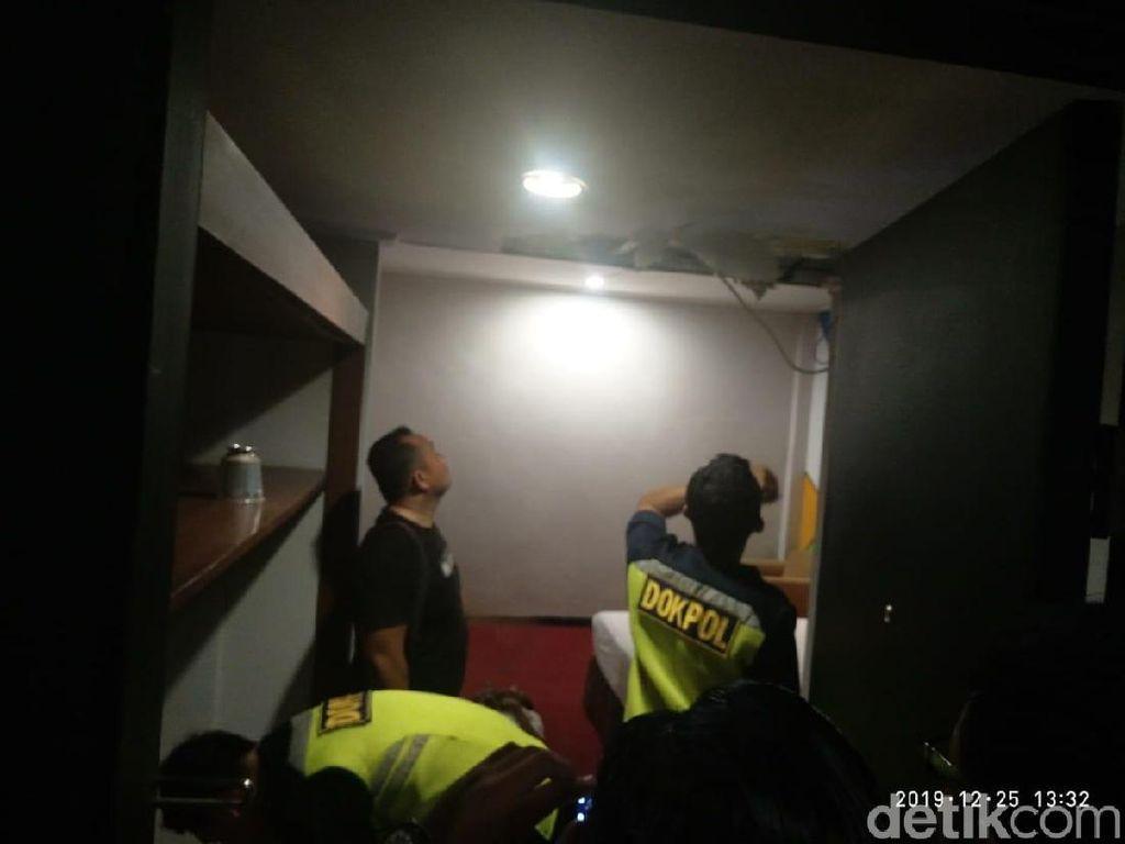Tukang Servis AC Ditemukan Tewas di Plafon Hotel di Makassar