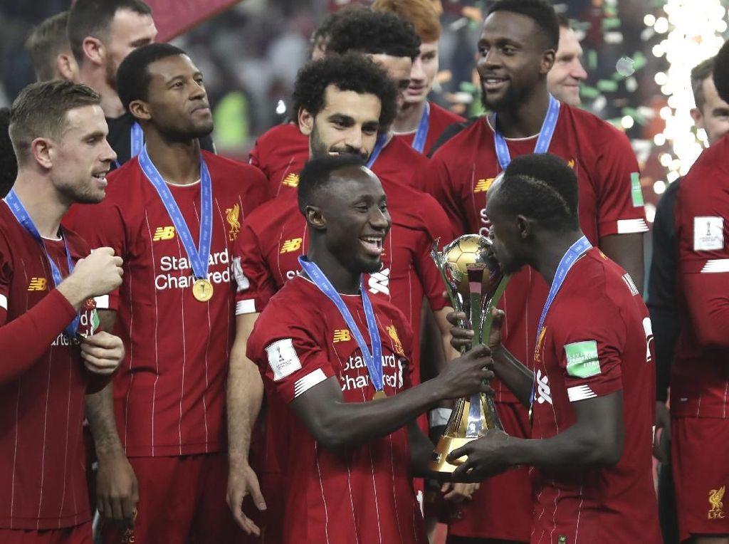 Mau Pakai Emblem Juara Dunia di Liga, Liverpool Banding