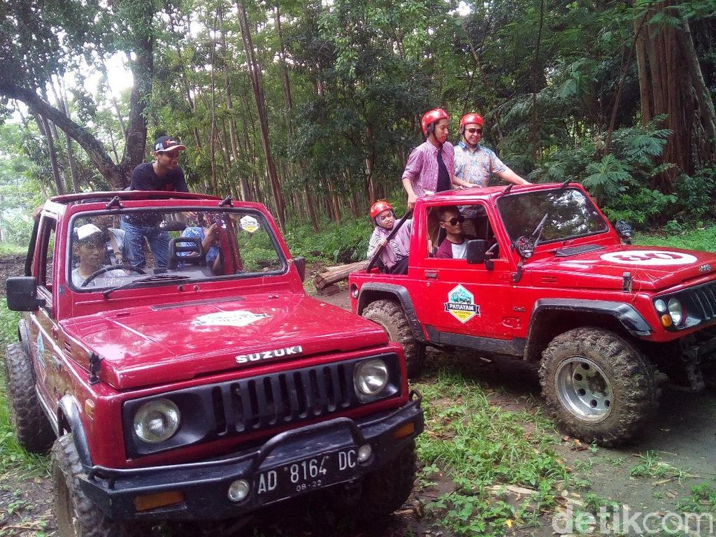 Potret Wisata Adrenalin di Perbukitan Patiayam