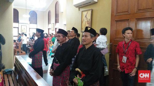Misa Natal di Gereja Kampung Sawah.