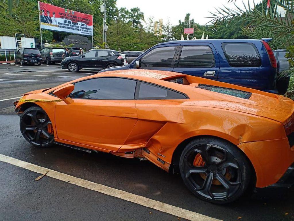 Kata Polisi soal Registrasi Lamborghini Milik Abdul Malik Pakai Nama Buruh
