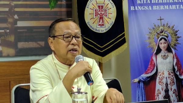 Uskup Agung Jakarta Ignatius Kardinal Suharyo (Jefrie/detikcom)