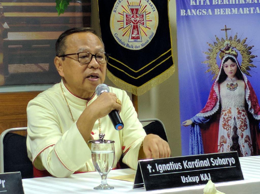 Uskup Jakarta Bicara soal Anies Datang di Tengah Ibadah: Kami Tak Terganggu