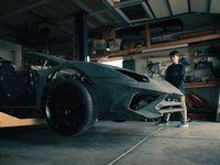 Rakit Lamborghini Pakai Printer 3D di Rumah, Hasilnya Bikin Takjub