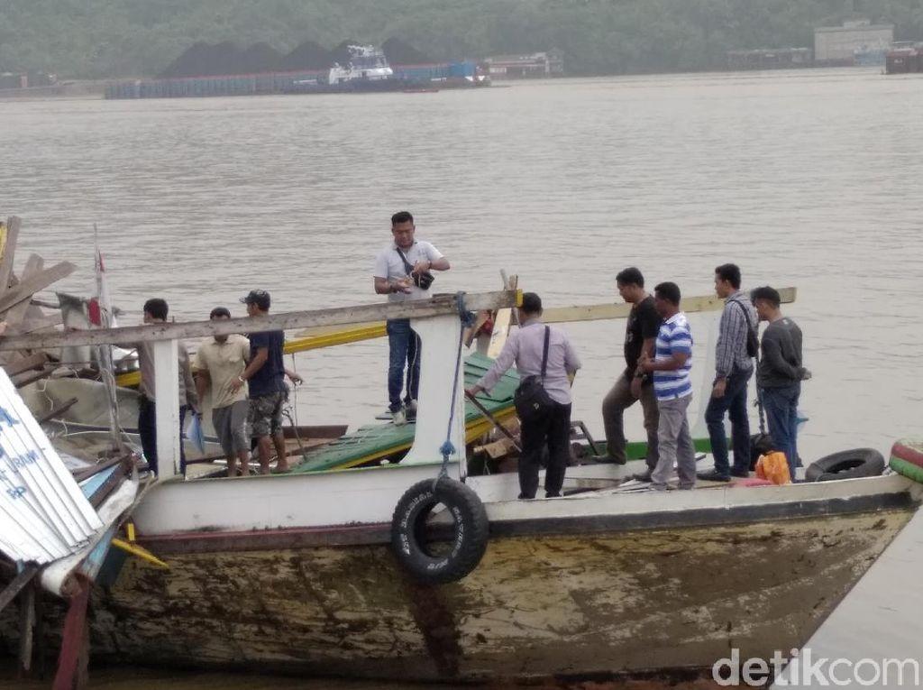 Polisi: Ledakan Kapal di Sungai Mahakam Berasal dari Tabung Gas 3 Kg