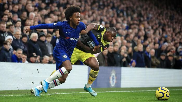 Chelsea tertinggal 0-1 dari Southampton di babak pertama. (Foto: Marc Atkins/Getty Images)