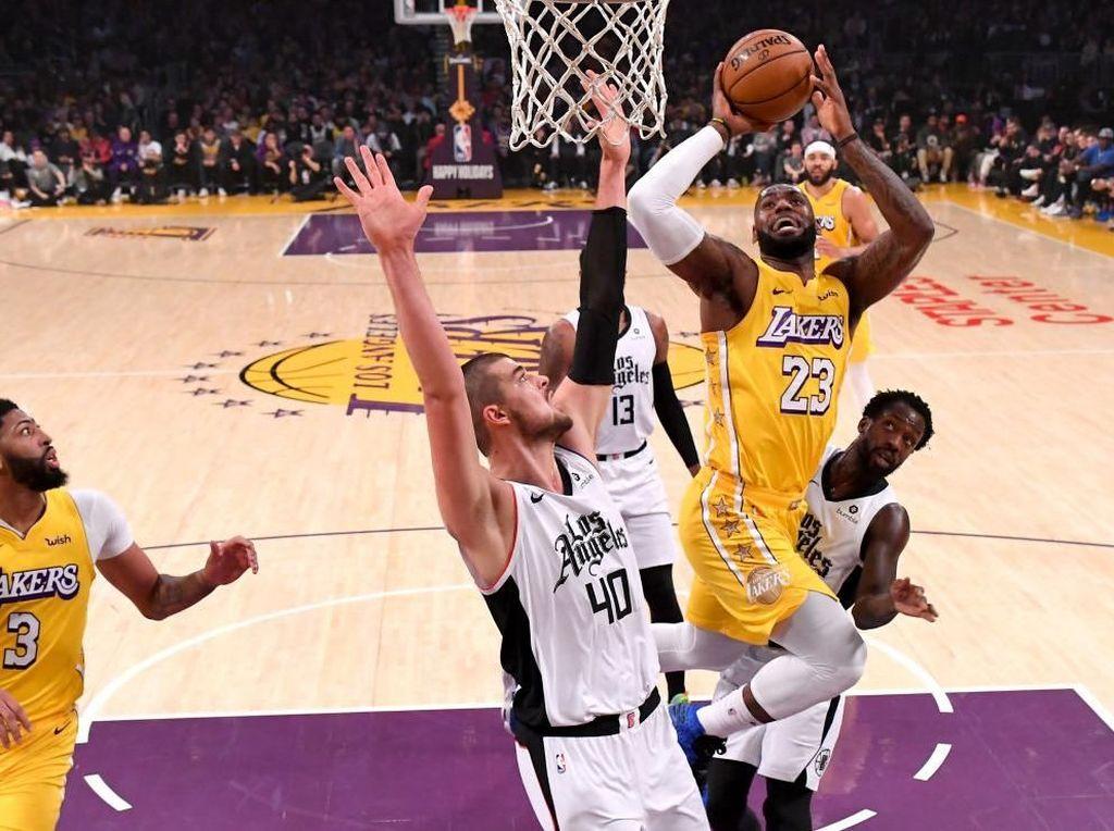 Hasil NBA: Lakers Kalah Lagi