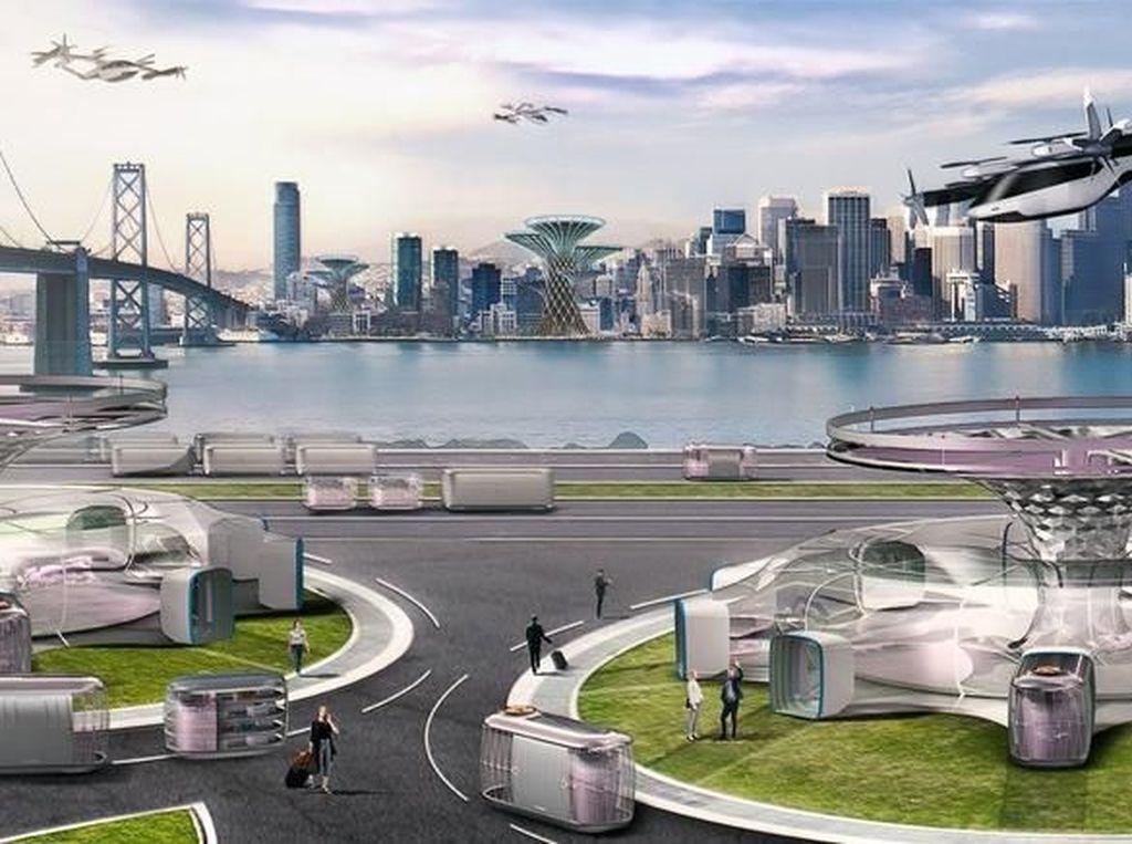Mobil Terbang Hyundai Akan Jadi Armada Taksol