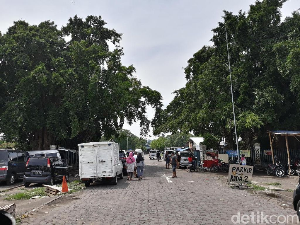 Belasan Pohon di Alun-alun Solo Tumbang, Ringin Kurung Masih Tegak