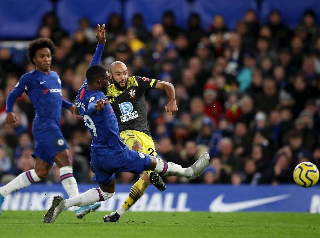 Chelsea Dipermalukan Southampton 0-2 di Stamford Bridge