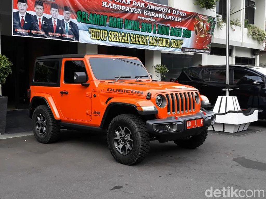 Intip Spek Jeep Rubicon Baru Bupati Karanganyar